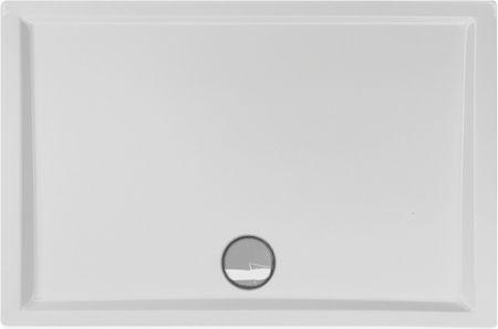 flache Duschtasse 100 x 70 x 4 cm