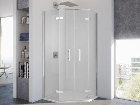 Dusche Fünfeck 100 x 100 x 200 cm