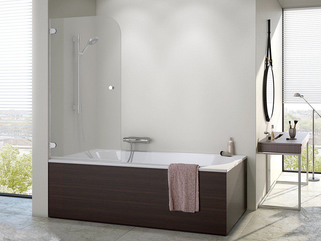 duschabtrennung badewanne 70 x 140 cm duschabtrennung dusche badewannenabtrennung wannenaufsatz 70. Black Bedroom Furniture Sets. Home Design Ideas