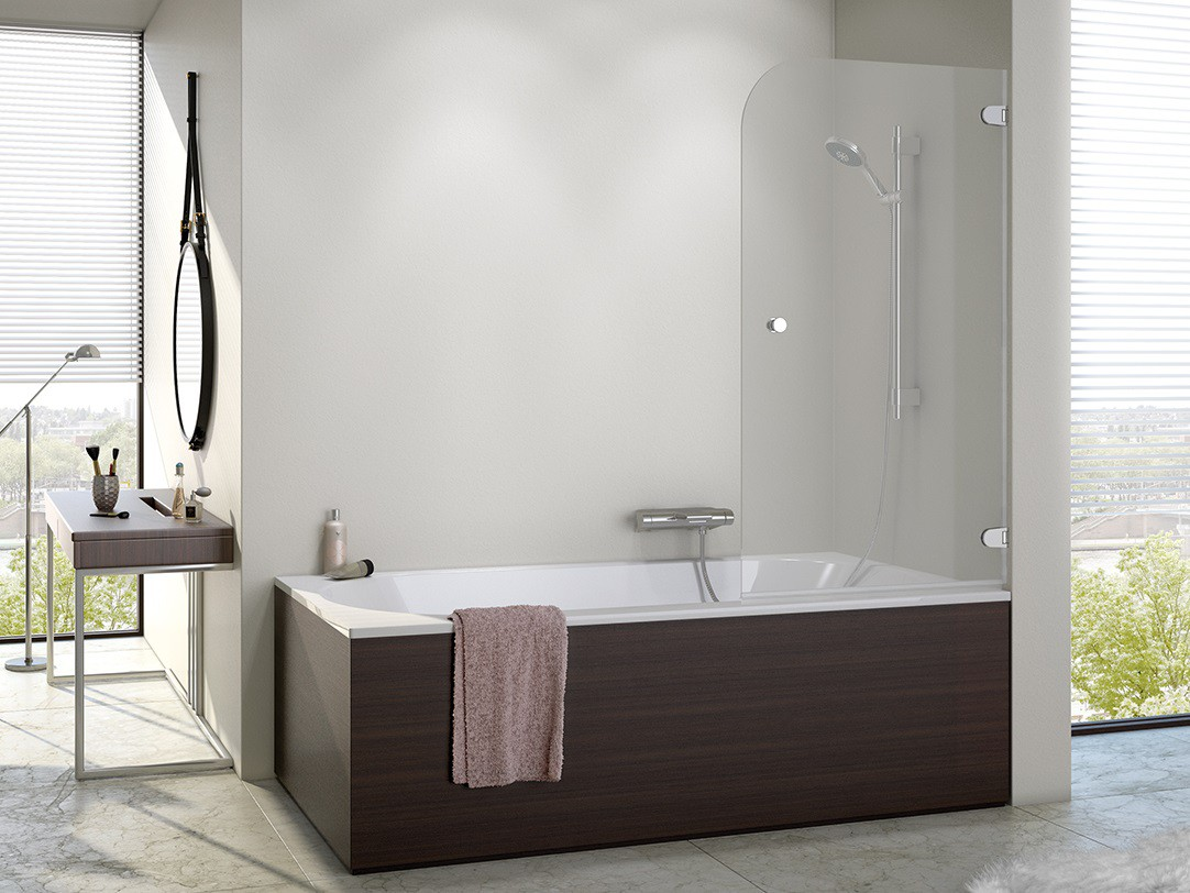 duschabtrennung badewanne 90 x 140 cm duschabtrennung. Black Bedroom Furniture Sets. Home Design Ideas