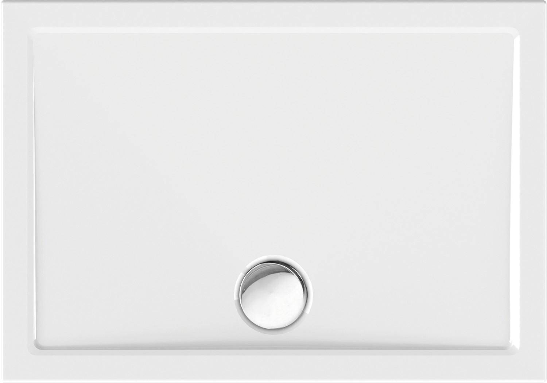 Duschwanne superflach 100 x 70 x 2,5 cm