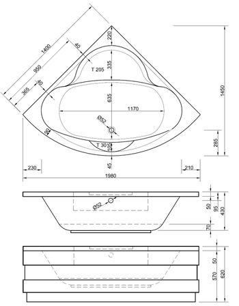 Modernes Bad Mit Eckbadewanne | gispatcher.com | {Eckbadewanne maße 160 37}