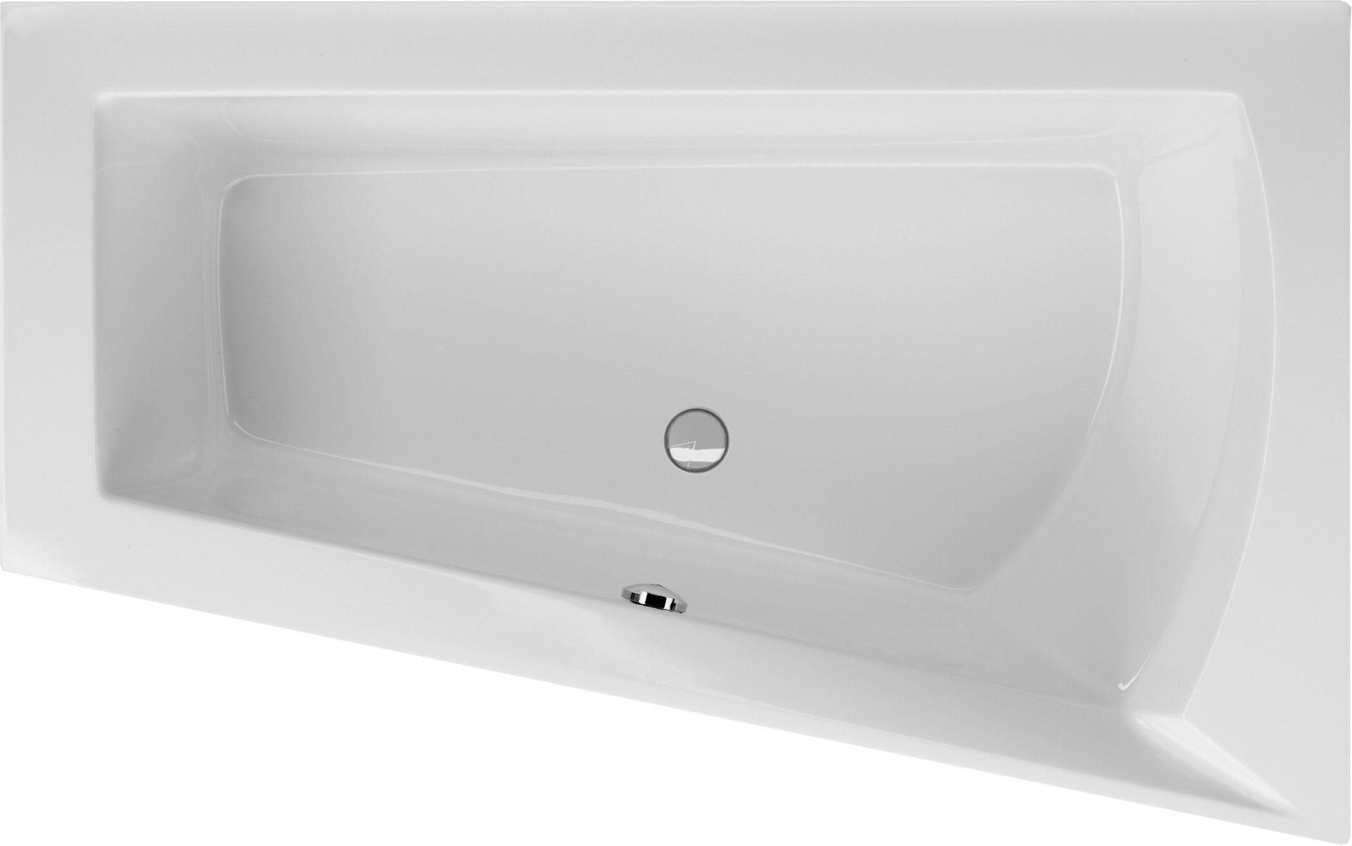 Extrem Raumsparwanne 160 x 100 x 50,5 cm | Bad Heizung Design BA99