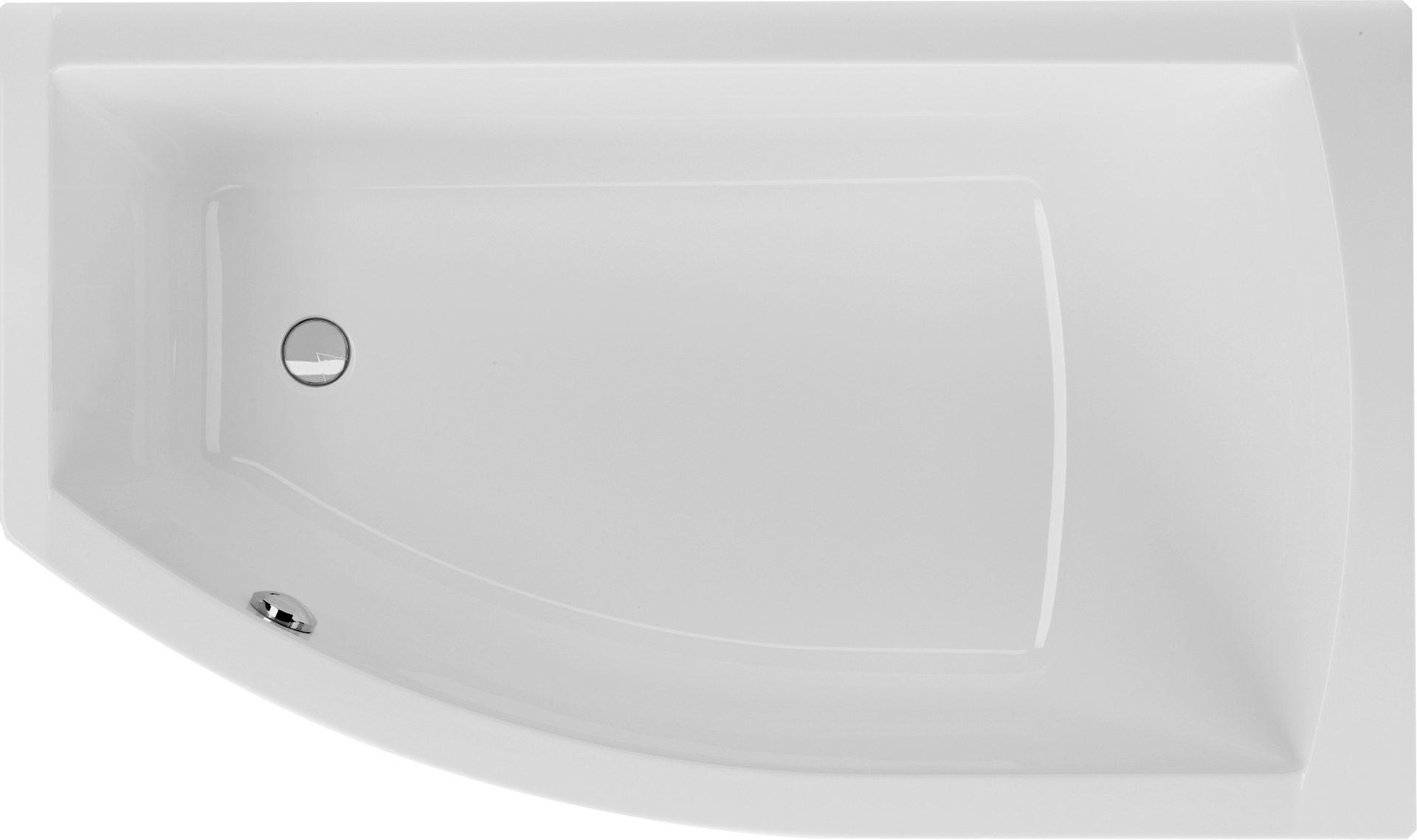 Gut bekannt Badewanne asymmetrisch 160 x 95 x 45,5 cm | Bad Heizung Design JV52