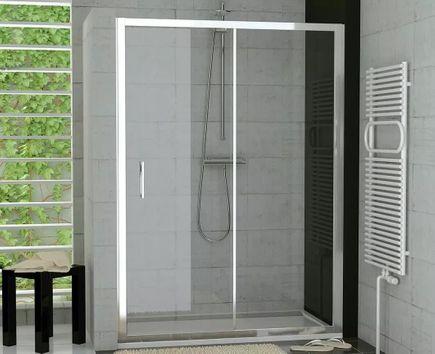 Duschtür Nischentür Schiebetür 120 x 190 cm