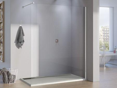 freistehende Duschwand 140 x 200 cm