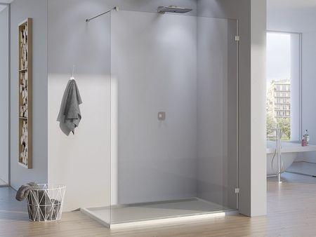 Glastrennwand Dusche 70 x 200 cm Glas