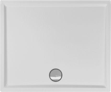 Duschwanne flach 110 x 100 x 4 cm
