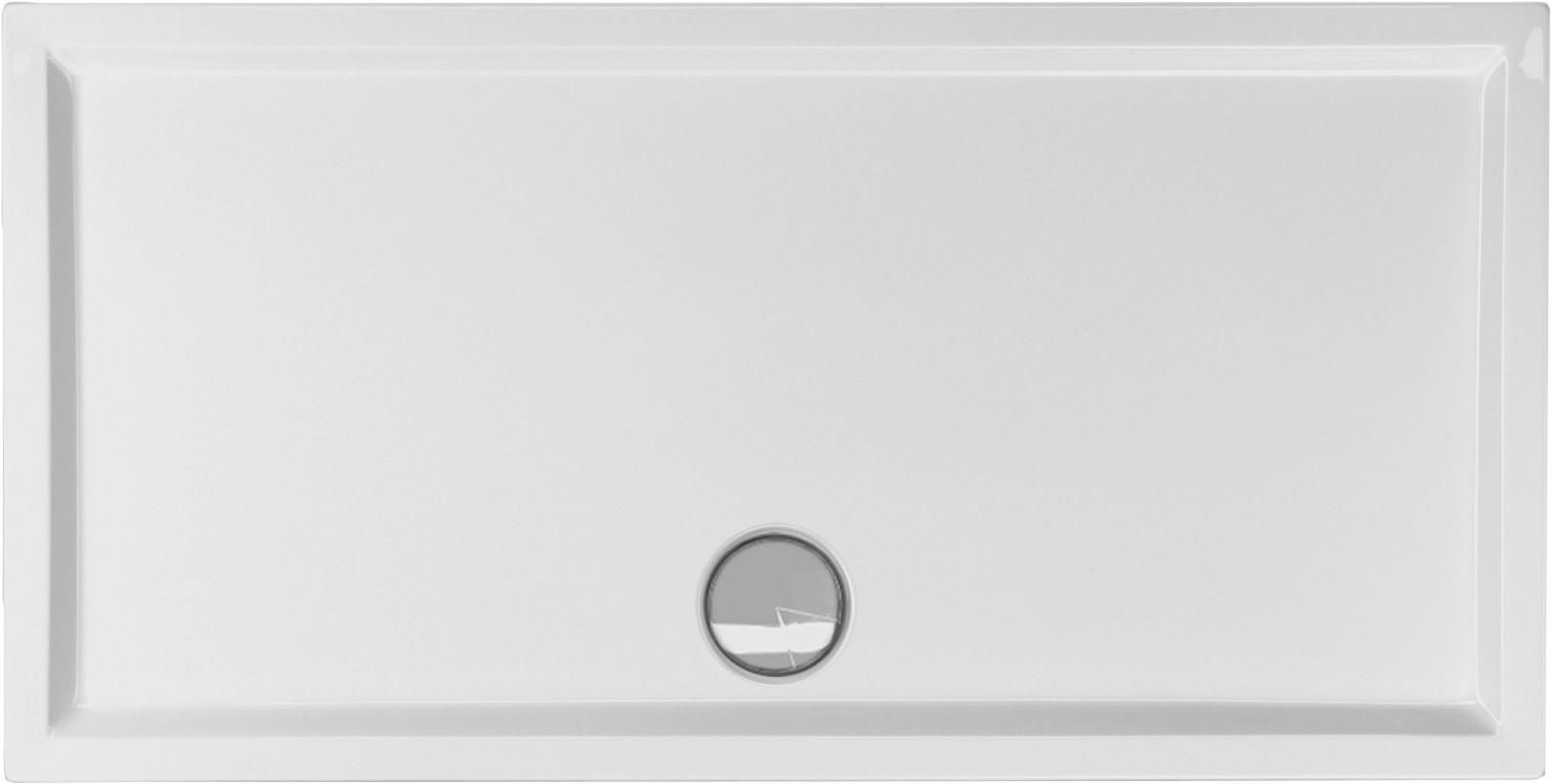 Duschwanne flach 160 x 80 x 4 cm