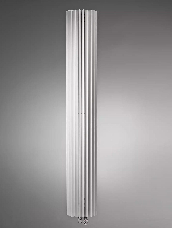 Design Heizkörper 220 x ab 27 cm ab 961 W Halbkreis