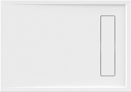 Duschwanne superflach 100 x 90 x 2,5 cm