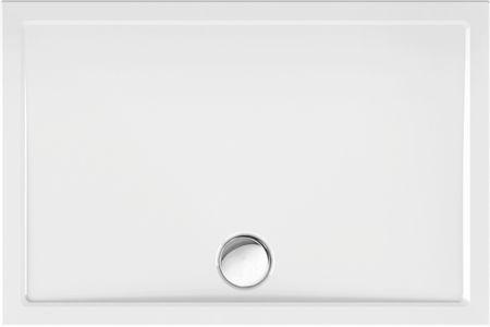 superflache Duschwanne 120 x 80 x 2,5 cm