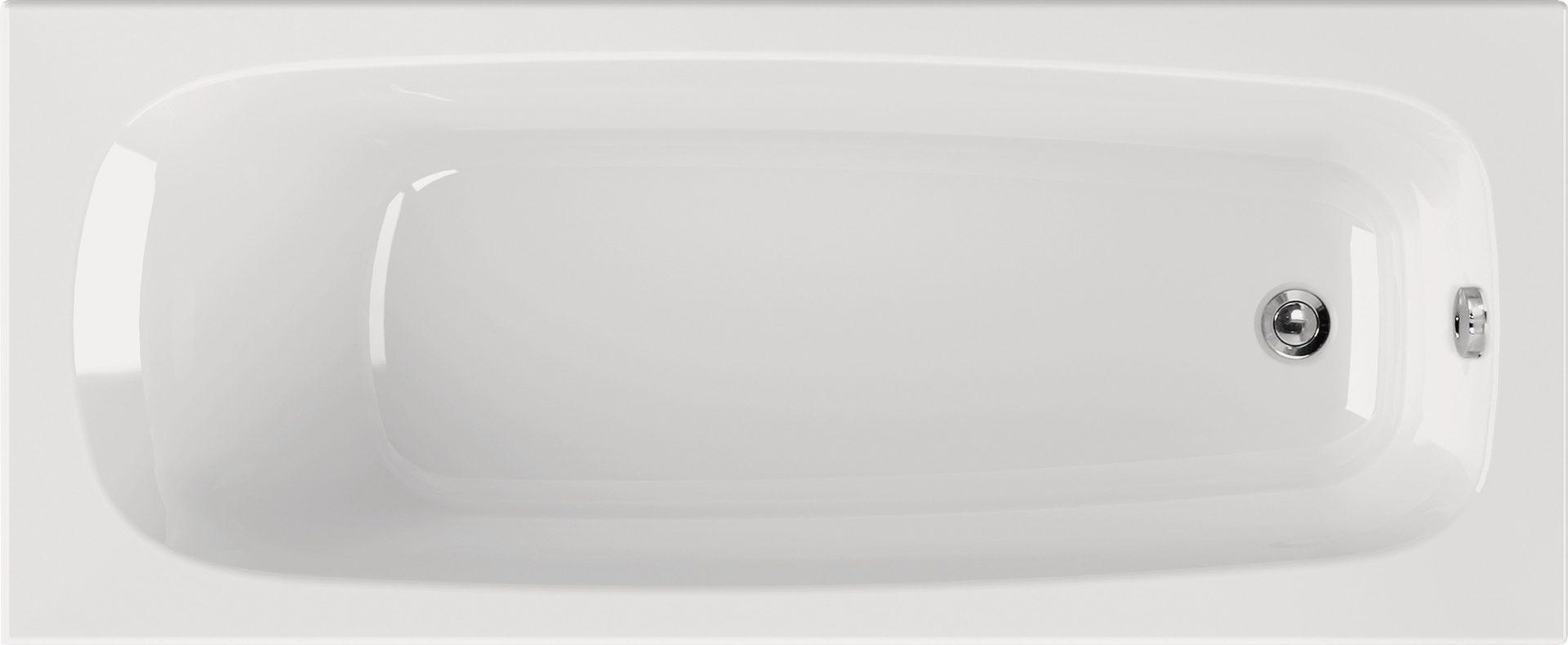 Sehr Rechteck Badewanne 170 x 75 x 41,5 cm | Bad Heizung Design QW18