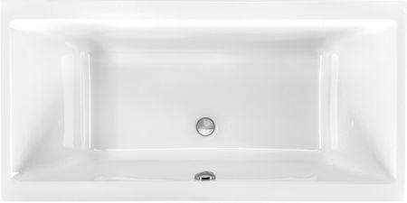 Rechteck Badewanne 160 x 75 x 43 cm