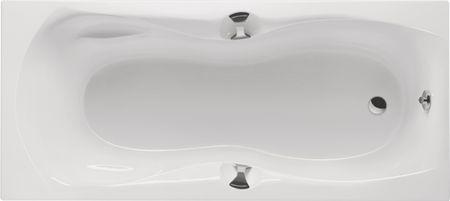 Badewanne mit Griffen 180 x 80 x 45 cm