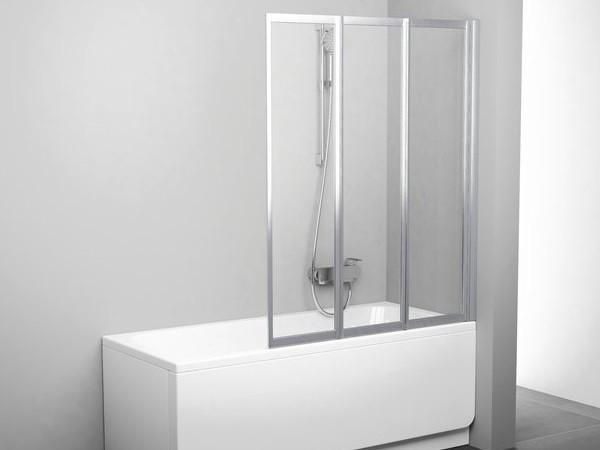 Favorit Badewannen-Faltwand 130 x 140 cm   Bad Heizung Design EO47