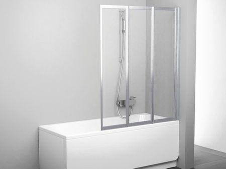 Badewannen-Faltwand 130 x 140 cm