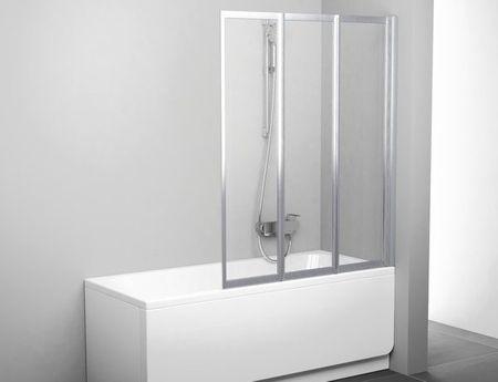 Badewannen-Faltwand 100 x 140 cm