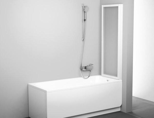Faltwand badewanne 100 x 140 cm duschabtrennung dusche badewannenabtrennung wannenaufsatz 100 - Faltwand dusche ...