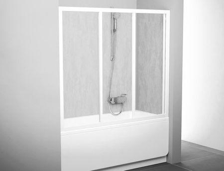 Badewannenaufsatz Schiebetür 180 x 140 cm