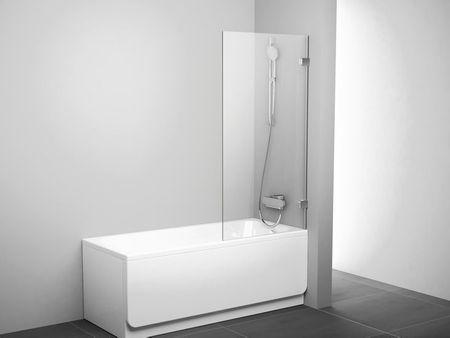 feststehende Duschwand 80 x 150 cm