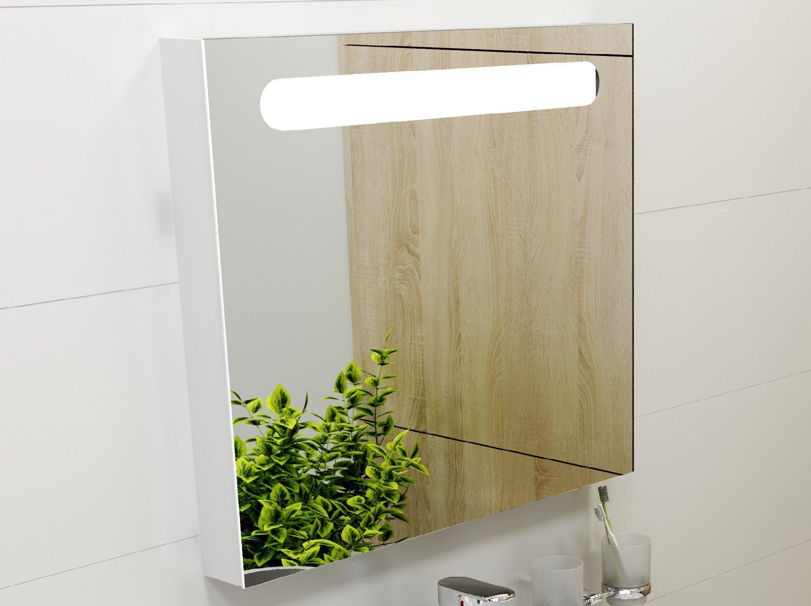 Badspiegel 800 mm cr m bel badezimmerm bel serie cr for Bad design heizung
