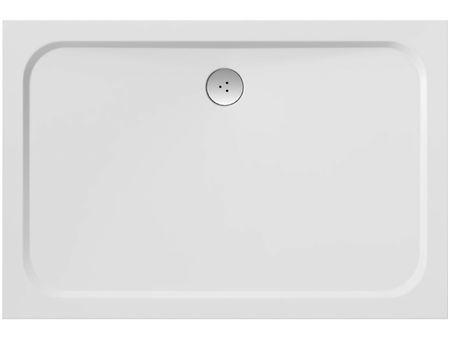 Gussmarmor Duschwanne 120 x 90 x 1,5 cm