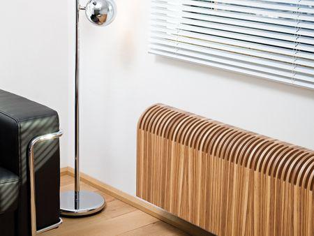 Holz Heizkörper 80 x 10 x ab 60 cm ab 645 Watt