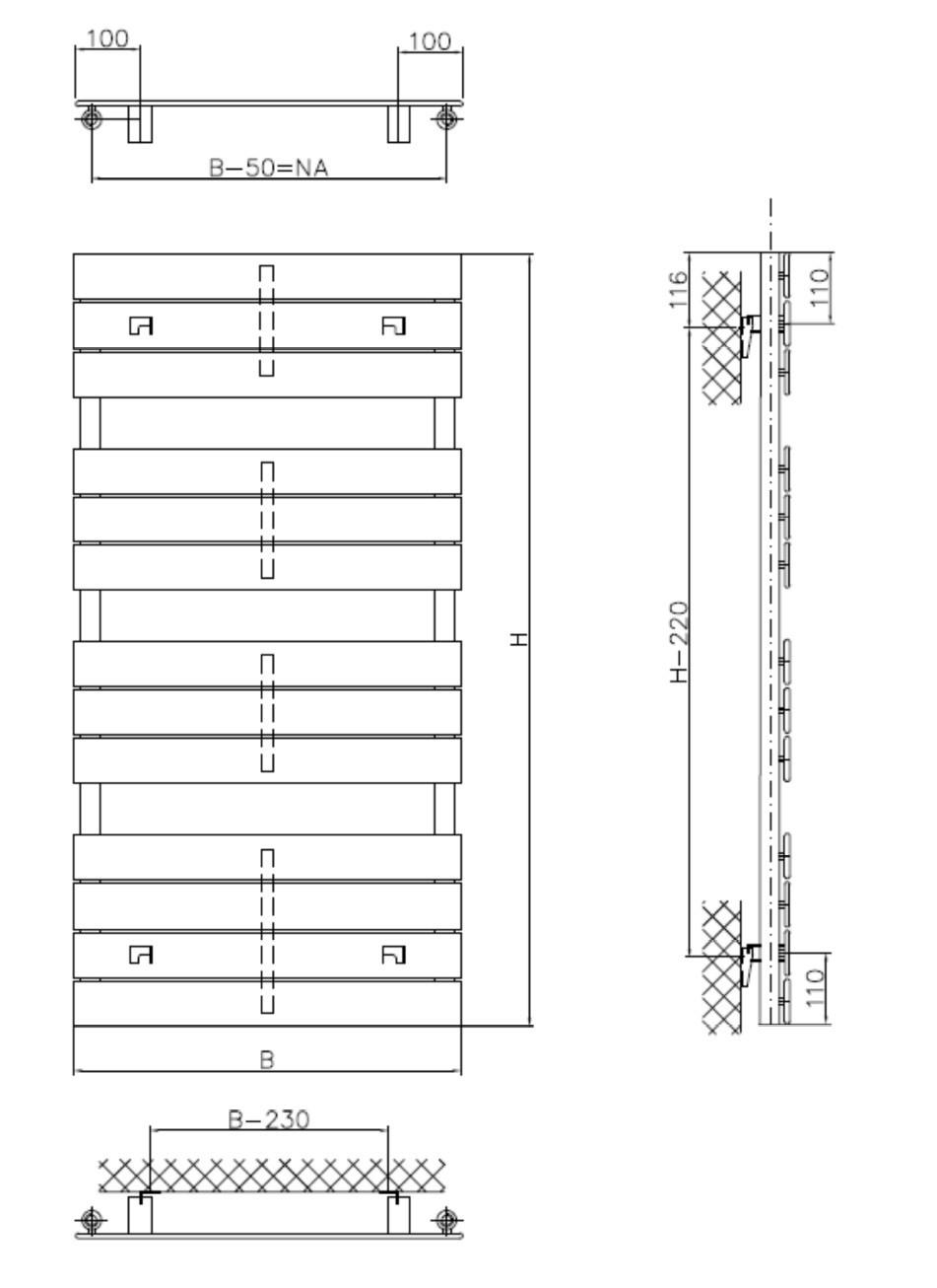 bad paneelheizkörper 1400 x 600 mm 915 watt heizkörper badheizkörper, Badezimmer ideen