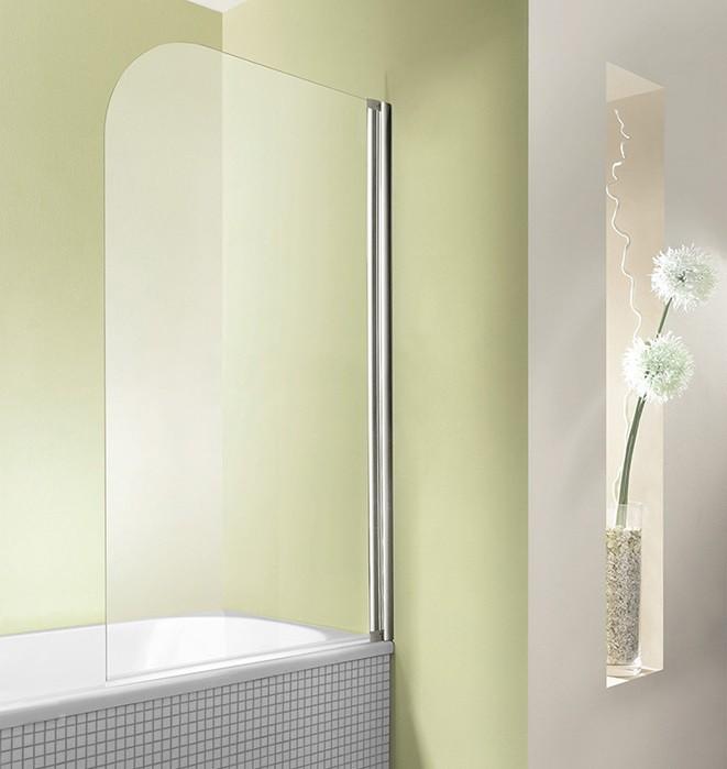 Duschwand Badewanne 75 x 160 cm