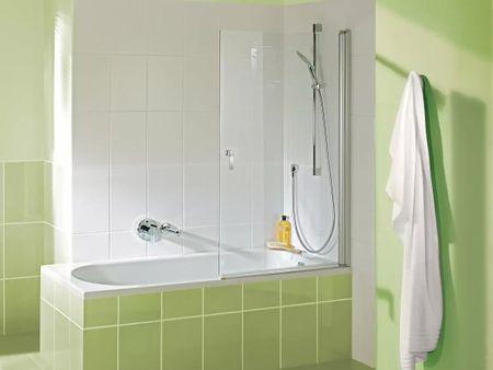 Badewannen Duschaufsatz 100 x 140 cm
