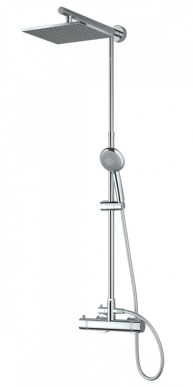 duschs ule mit brausethermostat armaturen brausearmaturen. Black Bedroom Furniture Sets. Home Design Ideas