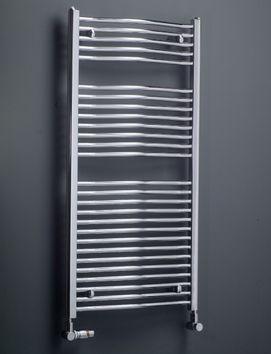 Handtuchheizkörper chrom 1200 x 600 mm 617 Watt