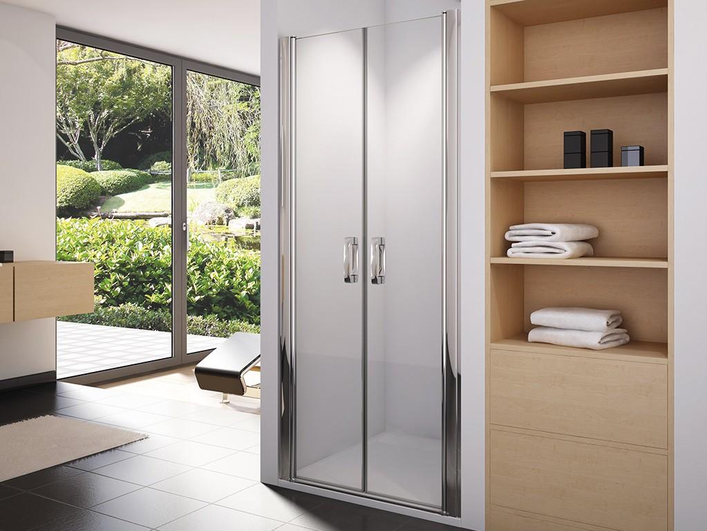 nischent r 90 cm mit pendelt ren 2 teilig dusche nische. Black Bedroom Furniture Sets. Home Design Ideas
