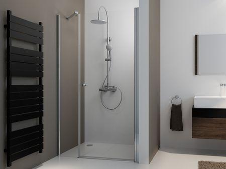 Duschtür mit Festfeld 90 x 220 cm