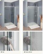 eckeinstieg schiebet r 100 x 80 x 200 cm duschabtrennung dusche eckeinstieg duschkabine. Black Bedroom Furniture Sets. Home Design Ideas