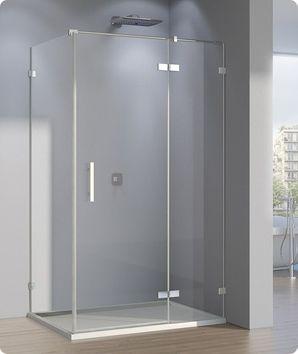 Duschkabine Tür Seitenwand 140 x 120 x 200 cm