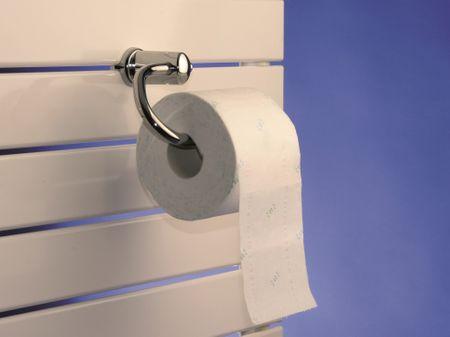 Paneelheizkörper Toilettenpapierhalter
