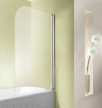 Duschwand Badewanne 80 x 140 cm