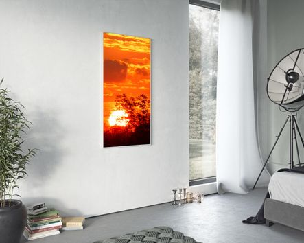 Heizkörper Infrarot mit Bild 120 x 60 cm 800 Watt
