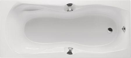 Badewanne mit Schürze Griffen 180 x 80 cm