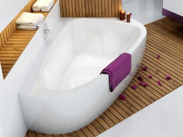 raumsparbadewanne 195 x 140 x 45 cm badewanne badewanne. Black Bedroom Furniture Sets. Home Design Ideas