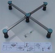 Duschwanne universal 5-Punkt Wannenfüße 87-115 mm 001
