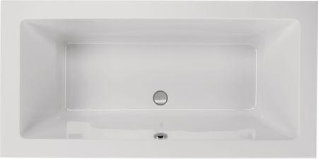 Badewanne 200 x 90 x 49 cm weiß
