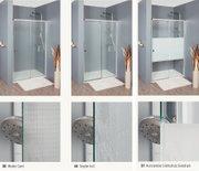 Dusche Tür Seitenwand 100 x 100 x 195 cm