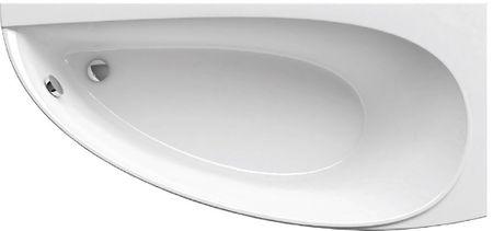 Raumspar Badewanne 160 x 70 x 46,5 cm