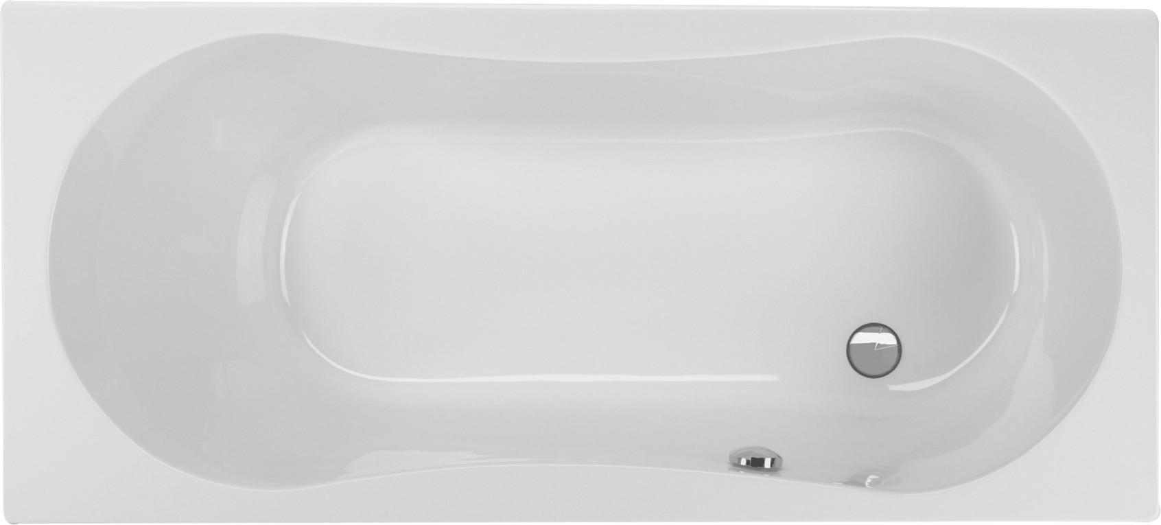 Badewanne mit Dusche 170 x 75 x 43,5 cm | Bad Design Heizung